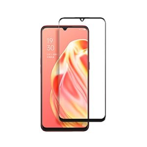 Oppo A91 Full Cover Coverage Tempered Glass Screen Protector