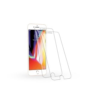 [2pcs ] Apple iPhone 7 Plus/8 Plus Tempered Glass LCD Screen Protector Film Guard
