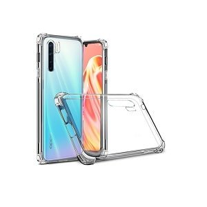 Oppo A91 Clear Shockproof Air Cushion Heavy Duty Case Cover
