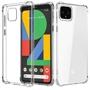 Google Pixel 4 Clear Case Shockproof Heavy Duty Protective Cover