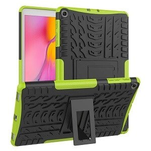 Samsung Galaxy Tab A 10.1 2019 T510 Heavy Duty Case Shockproof Rugged Protective Cover (Green)