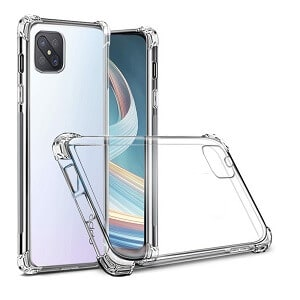 Oppo Reno4 Z 5G Heavy Duty Soft Clear Gel Shockproof Tough Case Cover