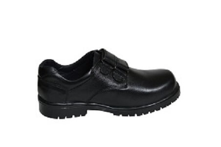 Original Leather Cow Hide Skin School Work Shoe With Lace For Boys Children Men..