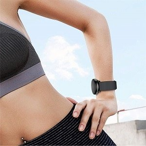Garmin Vivoactive 3 Silicone Wristband Adjustable Silicone Rubber Watch Band Kit ///