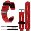 Garmin Forerunner 235 Wristband Adjustable Silicone Replacement Watch Band Kit (Outside Red)/