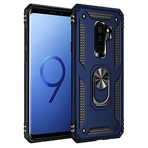 Samsung Galaxy S9 Heavy Duty Shockproof Rugged Case Cover (Navy Blue)