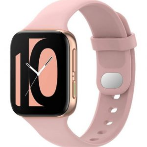 Oppo Watch 41mm | 46mm Replacement Wristband Silicone Strap Band Kit (Rose Gold)
