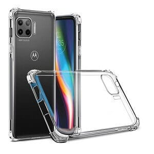 Motorola Moto G 5G Clear Gel Case Shockproof Tough Gel Clear Transparent Air Cushion Cover