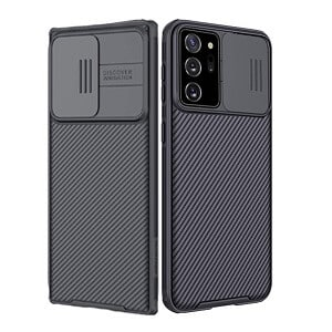 Samsung Galaxy Note 20 Ultra Case, Nillkin CamShield Series Slim Stylish Protective Case With Slide Camera Cover - Black */*