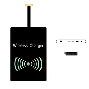 Type B Qi Wireless Charger Receiver Charging Adapter