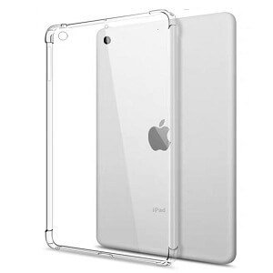 Apple iPad Air 3 10.5 2019 Case Clear Heavy Duty Shockproof Tough Gel Clear Transparent Air Cushion Cover (Transparent)