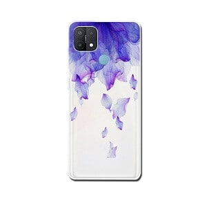 Oppo A15 Case Soft Gel TPU Flexible Fancy Protective Slim Stylish Cover (Style 1)