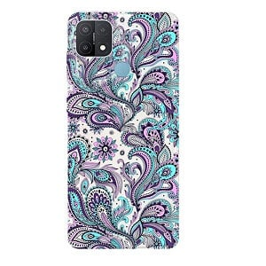 Oppo A15 Case Soft Gel TPU Flexible Fancy Protective Slim Stylish Cover (Style 2)