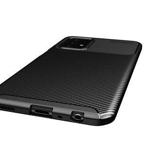 Samsung Galaxy A52 5G Rugged Shockproof Case Carbon Fiber Heavy Duty Rugged Cover
