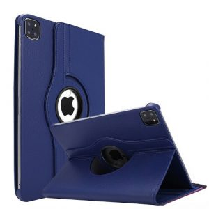 Navy Blue iPad Pro 11 2021 Smart Leather Case