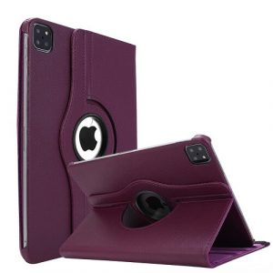 Purple iPad Pro 11 2021 Smart Leather Case
