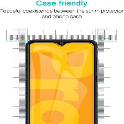 [2 Pack] Optus X Pro Screen Protector Full Coverage Tempered Glass Film Guard (Clear)