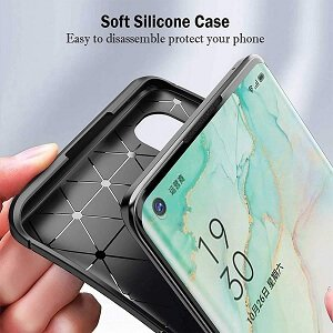 Oppo A54 5G Case Shockproof Heavy Duty Rugged Anti Knock Back Cover (Black)