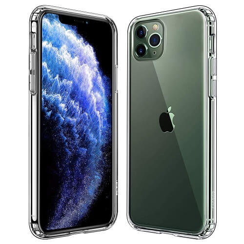 Apple iPhone 11 Pro Hard Clear Case Cover For Sale