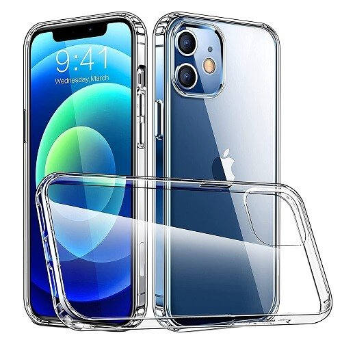 Apple iPhone 12 Hard Clear Case Cover For Sale   Ozcheapdeals