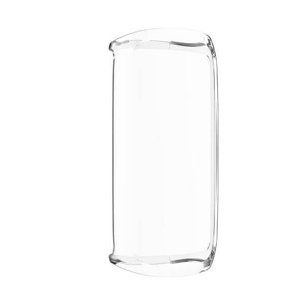 Fitbit Luxe Gel Case Premium Soft Protective Silicone Cover (Clear)
