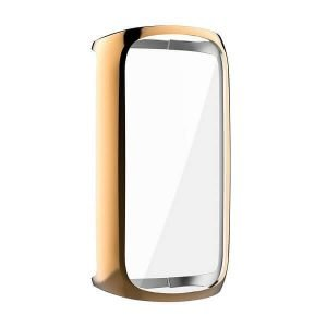 Fitbit Luxe Gel Case Premium Soft Protective Silicone Cover (Rose Gold)