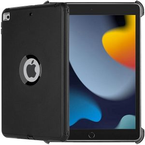 Apple iPad 9th Gen Military Grade Full Body Protection Case Cover