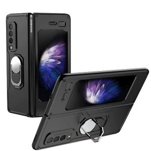 Samsung Galaxy Z Fold 3 5G Magnetic Car Mount Ring Case Cover